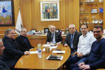 Συνάντηση του Δημάρχου Αλεξανδρούπολης με τον Πρύτανη του Δ.Π.Θ. και τον Κοσμήτορα της Ιατρικής Σχολής