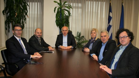 Συνάντηση του Περιφερειάρχη ΑΜΘ με τον Πρόεδρο του Τεχνικού Επιμελητηρίου Ελλάδας