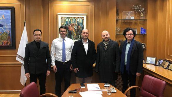 Συνάντηση ενεργειακών θεμάτων μεταξύ του Δήμου Αλεξανδρούπολης και του Τεχνικού Επιμελητηρίου Ελλάδας