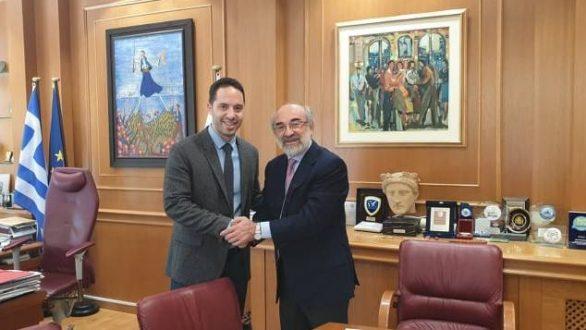 Τον Δήμαρχο Αλεξανδρούπολης επισκέφτηκε ο κ. Λευτέρης Βαρουξής