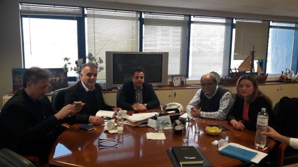 Η αναβάθμιση της ακτοπλοϊκής σύνδεσης της Σαμοθράκης συζητήθηκε σε σύσκεψη στο Υπουργείο Ναυτιλίας