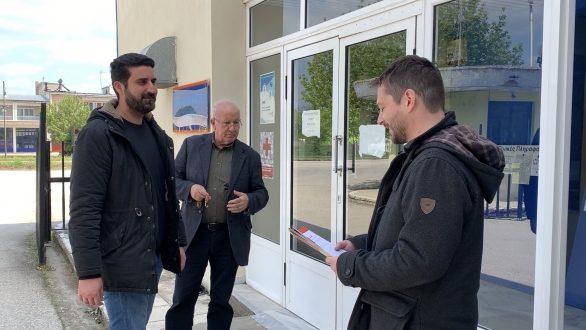Περιοδεία Κλάδη-Ζαλουφλή σε παραγωγικές μονάδες της Ορεστιάδας