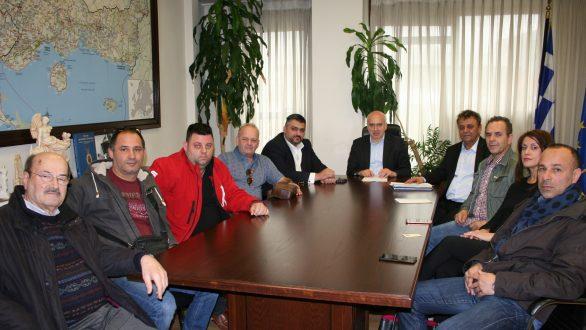 Συνάντηση του Περιφερειάρχη ΑΜΘ με τους αρτοποιούς της Περιφέρειας