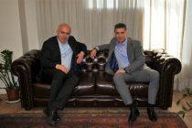 Συνάντηση του Περιφερειάρχη ΑΜΘ με τον Ευρωβουλευτή Θοδωρή Ζαγοράκη