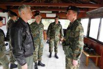 Επίσκεψη του αρχηγού ΓΕΕΘΑ σε Επιτηρητικό Φυλάκιο στο Σουφλί