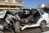 Μετωπική σύγκρουση δύο αυτοκινήτων στο Πύθιο