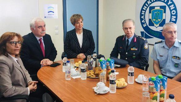 Επίσκεψη της Υπουργού Προστασίας του Πολίτη Όλγας Γεροβασίλη στον Έβρο