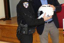 Δωρεά 20 κρανών μοτοσικλετών στην ομάδα ΔΙ.ΑΣ. της Διεύθυνσης Αστυνομίας Ροδόπης