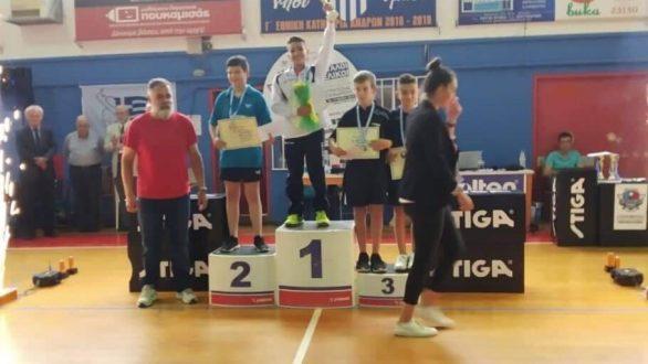 Φιλία Ορεστιάδας: Επιτυχίες στο τμήμα επιτραπέζιας αντισφαίρισης