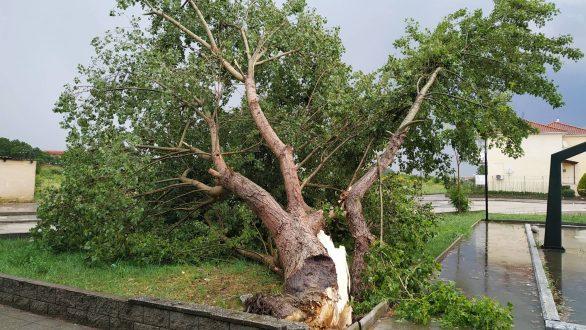 Προβλήματα από την ισχυρή βροχόπτωση στο Διδυμότειχο