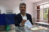 Το εκλογικό του δικαίωμα άσκησε στη Ν.Βύσσα ο Τοψίδης