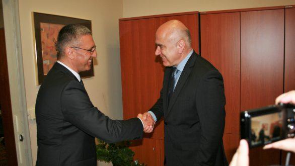 Συνάντηση του Περιφερειάρχη ΑΜΘ με τον Πρέσβη της Τουρκίας στην Αθήνα