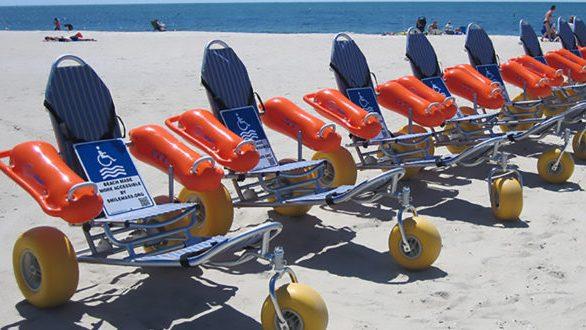 Προσβάσιμες σε Άτομα με Αναπηρίες οι παραλίες της Αλεξανδρούπολης