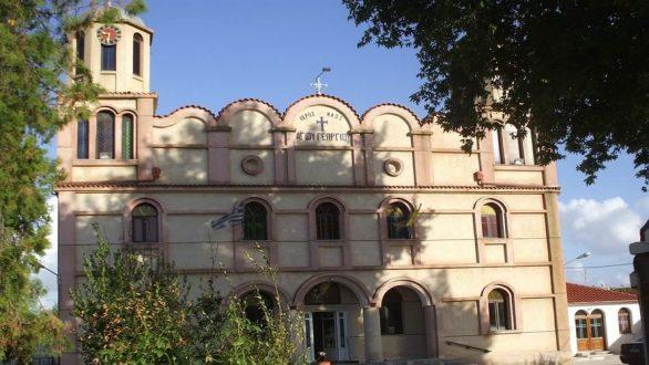 Θεμελίωση παρεκκλησίου στη Ν. Βύσσα