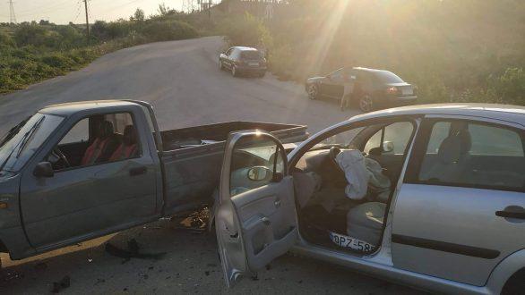 Αυτοκίνητα συγκρούστηκαν έξω από το Διδυμότειχο