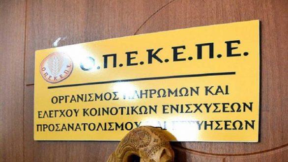 Ο ΟΠΕΚΕΠΕ πλήρωσε 13,2 εκατ. ευρώ σε 1.505 δικαιούχους