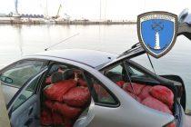 Σύλληψη για μεταφορά ενός τόνου παράνομων οστράκων στην Αλεξανδρούπολη