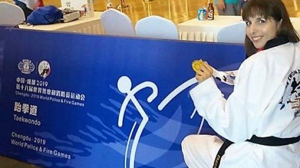 Χρυσό και στο Παγκόσμιο Πρωτάθλημα για την Πολύτεκνη Εβρίτισσα Μητέρα Σαραντούλα Παγωνάκη