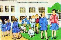 Γιατί και πότε καταργήθηκαν οι σχολικές ποδιές