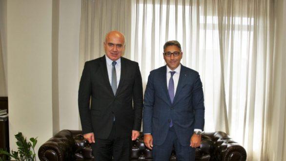 Συνάντηση του Περιφερειάρχη ΑΜΘ με τον Γενικό Πρόξενο της Τουρκίας στην Κομοτηνή
