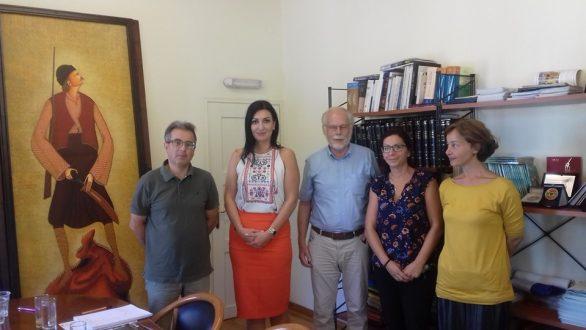 Συνάντηση στα πλαίσια της Ελληνογερμανικής Συνέλευσης με τον Δήμο Σαμοθράκης