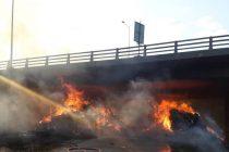 Γέφυρα Εγνατίας: Άγνωστο πότε θα αποκατασταθούν οι ζημιές από την φωτιά
