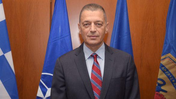 Στον Έβρο ο υφυπουργός Εθνικής Άμυνας Αλκιβιάδης Στεφανής
