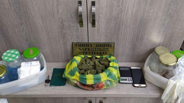 Σύλληψη 22χρονου για ναρκωτικά στο Διδυμότειχο