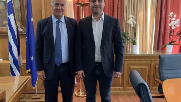 Συνάντηση Δερμεντζόπουλου – Βορίδη για τις αποζημιώσεις των βαμβακοπαραγωγών
