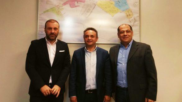 Με τη νέα διοίκηση του ΟΛΑ συναντήθηκε ο Σ. Κελέτσης