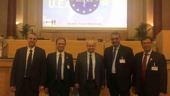 Αντιπρόεδρος της UEMS εξελέγη ο Πρόεδρος του Ι.Σ. Έβρου Ανδρέας Παπανδρούδης