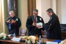 Ο καθηγητής του ΔΠΘ Μ.Γ. Βαρβούνης αναγορεύθηκε επίτιμος διδάκτορας του Πανεπιστημίου του Βουκουρεστίου στη Ρουμανία