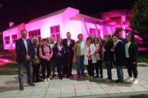 Το Πολυκοινωνικό Κέντρο του Δήμου Αλεξανδρούπολης φωτίστηκε με ροζ χρώμα ως σύμβολο ελπίδας