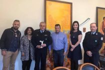 Επίσκεψη του Διευθυντή της Αστυνομίας της Αλεξανδρούπολης  στο Δημοτικό κατάστημα του Δήμου Σαμοθράκης
