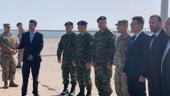 """Αλεξανδρούπολη: Τεράστιες οι ευκαιρίες για ενίσχυση της συνεργασίας Ελλάδας-ΗΠΑ από την ανέλκυση της """"Όλγα"""""""