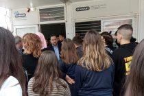 Επίσκεψη και συζήτηση του Δημάρχου Αλεξανδρούπολης στις Φέρες λόγω της κατάληψης