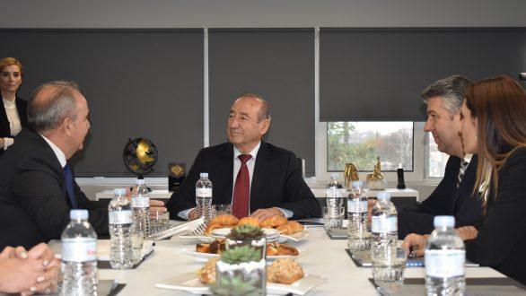 Επίσκεψη του Υφυπουργού Βιομηχανίας και Εμπορίου στην Αλεξανδρούπολη