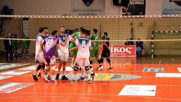 Volley League: Εύκολο πέρασμα του Παναθηναϊκού από την Αλεξανδρούπολη