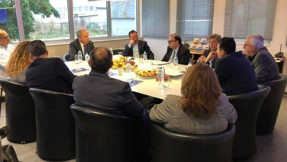 Συνάντηση του Δημάρχου Αλεξανδρούπολης με τον Υφυπουργό Ανάπτυξης και Επενδύσεων