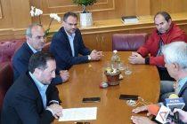 Συνάντηση Δημοσχάκη με τον Δήμαρχο Αλεξανδρούπολης