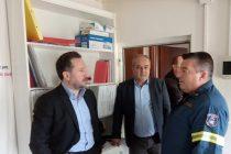 Το Πυροσβεστικό Κλιμάκιο Φερών επισκέφθηκε ο Δήμαρχος Αλεξανδρούπολης