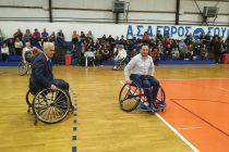 Πραγματοποιήθηκε το Σάββατο ο αγώνας καλαθοσφαίρισης με αμαξίδια στο Σουφλί