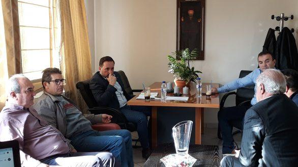 Συνάντηση του Δημάρχου Αλεξανδρούπολης με το Δ.Σ. του ΤΟΕΒ Φερών-Πέπλου