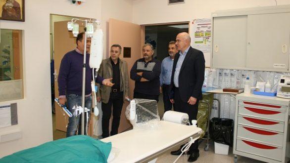 598.000 ευρώ για τη Στεφανιαία Μονάδα και τις Καρδιολογικές Κλινικές του νοσοκομείου Αλεξανδρούπολης