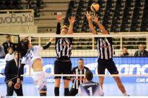 Volley League: Ήττα του Εθνικού στην Θεσσαλονίκη από τον ΠΑΟΚ