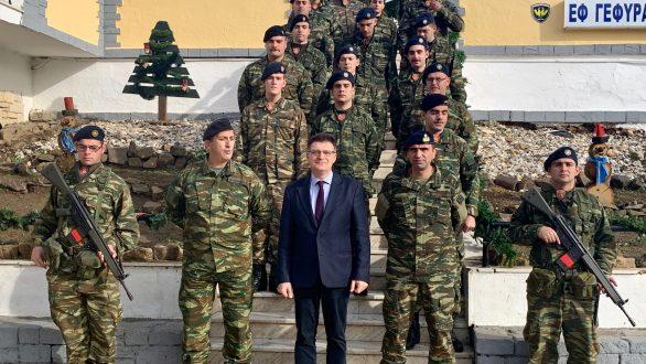 Στρατιωτικά φυλάκια και σημεία ελέγχου της Ελληνικής Αστυνομίας στον Έβρο επισκέφτηκε ο Αντιπεριφερειάρχης Δημήτριος Πέτροβιτς