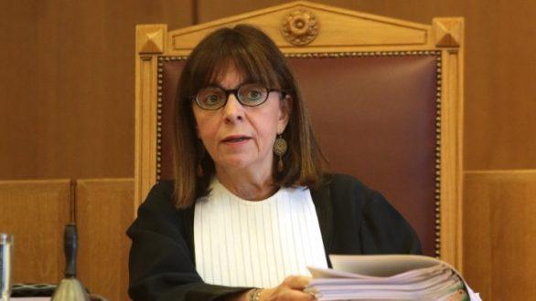 Η Θρακιώτισσα Αικατερίνη Σακελλαροπούλου υποψήφια Πρόεδρος της Δημοκρατίας