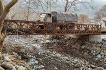 Ολοκληρώθηκε η κατασκευή της Γέφυρας Μπέλεϋ στη Σαμοθράκη