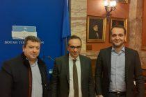 Συνάντηση δημάρχου Σαμοθράκης με τον υφυπουργό υγείας για τα προβλήματα υγείας του νησιού