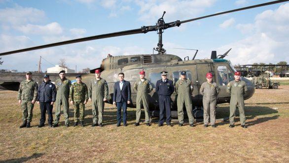 Συνάντηση Πέτροβιτς με τα μεικτά πληρώματα στρατού – αστυνομίας